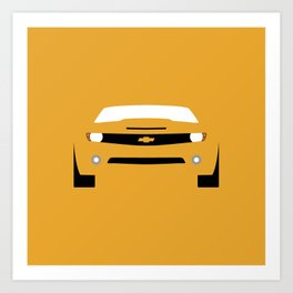 Chevrolet Camaro ( 2006 ) Art Print