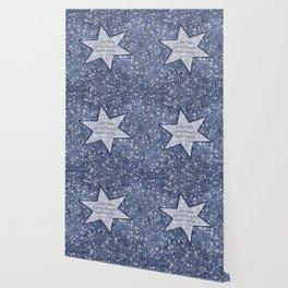 starry sky pacific northwest haiku Wallpaper