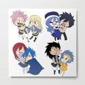 Fairy Tail Chibi Couples by mintanncrafts