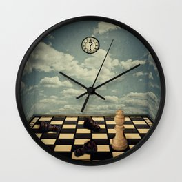 mystic chess room Wall Clock