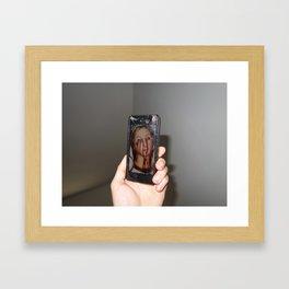 i p h o n e Framed Art Print