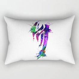 Jin Kazama Colorful ink Rectangular Pillow