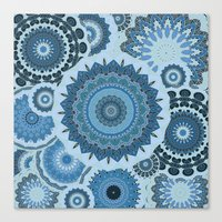 gypsy Canvas Prints featuring GYPSY by Monika Strigel®