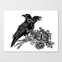 The Ravens Canvas Print