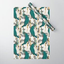 VELVET PEACOCK Wrapping Paper