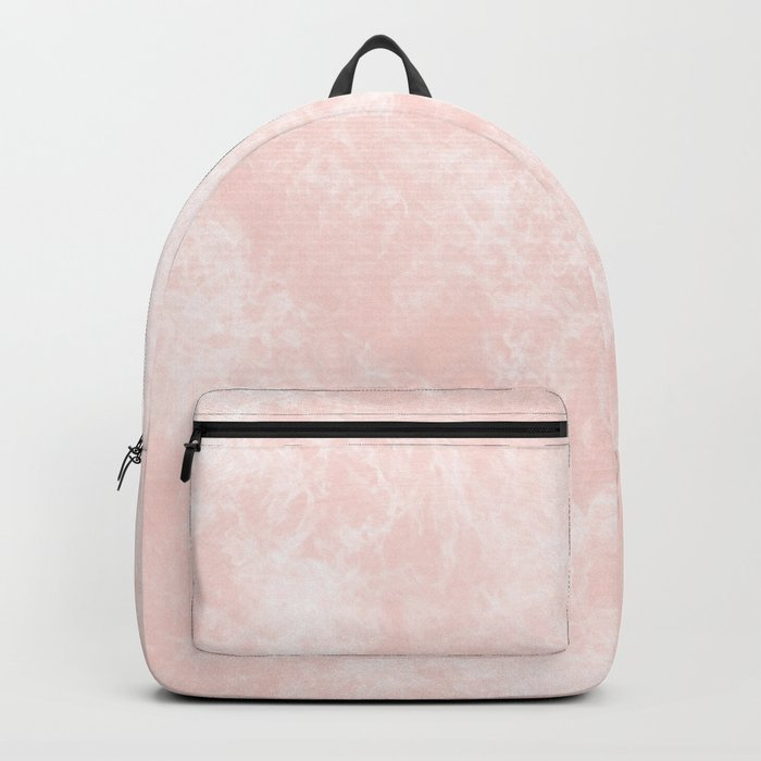 Pink Coral Marble Backpack