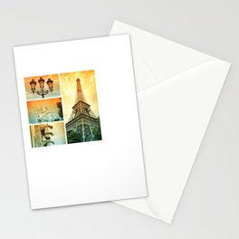 Drama of Paris Collage Stationery Cards