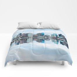 Boston reflection Comforters