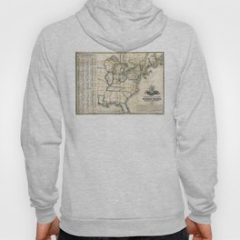United States - Telegraph stations - 1853 Hoody
