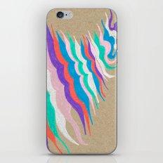rainbow waves iPhone & iPod Skin