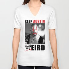 Keep Austin WWEird Unisex V-Neck