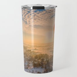 Floating Sunrise Travel Mug