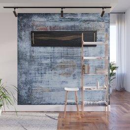 """abstract antique ebony wall"" Wall Mural"