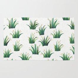 Field of Aloe Rug