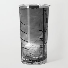 Portuguese tall ship Travel Mug
