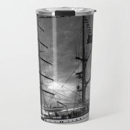Portuguese tall ship Travel Mug