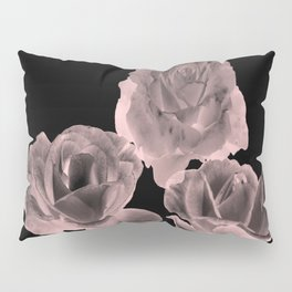 Trio of Blush Roses Pillow Sham