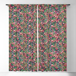 Rose Romance Pattern Blackout Curtain