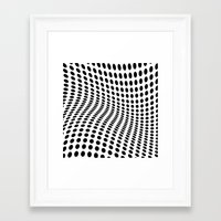 wave Framed Art Prints featuring Wave by fly fly away