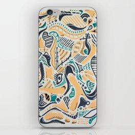 2D Dynamism 01 iPhone Skin
