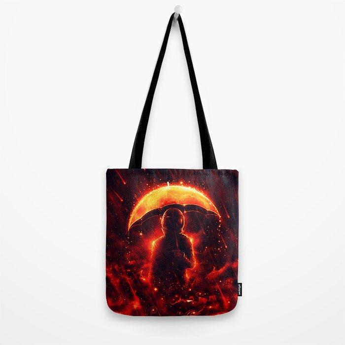 Cosmic Rain Tote Bag