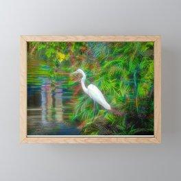 Crane Fantastique Framed Mini Art Print