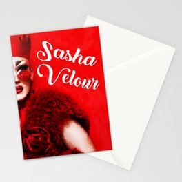 RUPAUL DRAG RACE SASHA VELOUR QUEEN HEY Stationery Cards