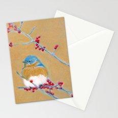 Bluebird on Branch Stationery Cards