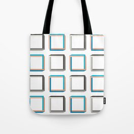 Impossible shapes alternating pattern. Tote Bag