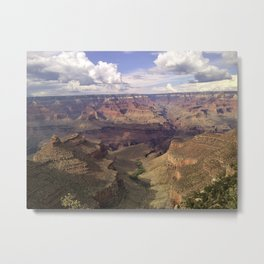 Grand Canyon Valley Metal Print