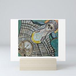 Riendo's Santa Muerte Mini Art Print