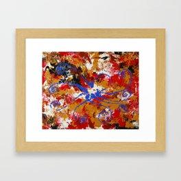 Murky Reef Framed Art Print