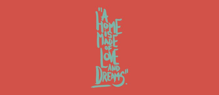 Motivation Quote - Illustration - Home - Dreams - Inspiration - life - happiness - love Coffee Mug