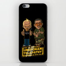Unspoken Telepathy iPhone & iPod Skin