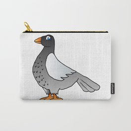 cartoon pigeon. Carry-All Pouch