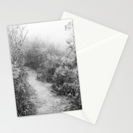 Coastal Path in Point Reyes - 35mm film Stationery Cards
