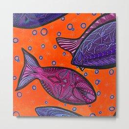 FISH3 Metal Print
