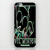 invader zim iPhone & iPod Skins featuring invader zim gir by jjb505