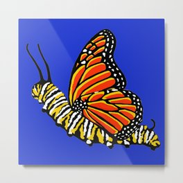 Caterfly Metal Print
