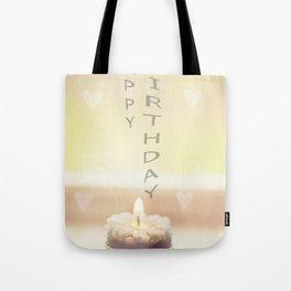 Happy birthday wishes Tote Bag