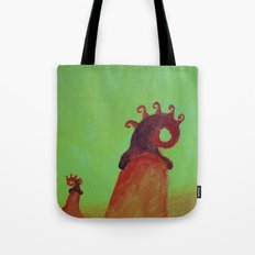 Plants and Moon Tote Bag