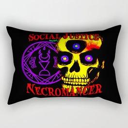 Social Justice Necromancer Rectangular Pillow