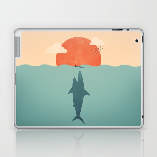 Shark Attack  Laptop & iPad Skin