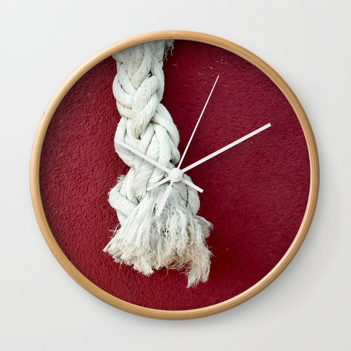 Marine rope Wall Clock