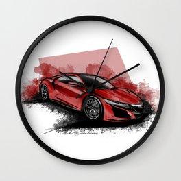 New Acura NSX Wall Clock
