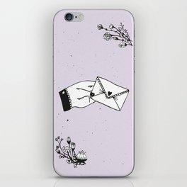 Snail Mail Love iPhone Skin