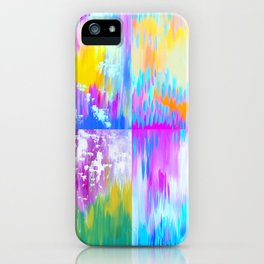 Abstract Art With Loads of Spirit iPhone Case