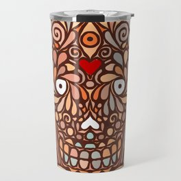Ramona Sugar Skull Travel Mug