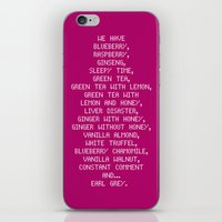 scott pilgrim iPhone & iPod Skins featuring Scott Pilgrim vs. The World - Ramona by MacGuffin Designs
