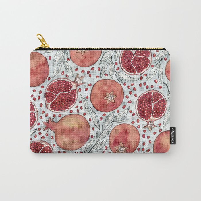 Old Pomegranates Carry-All Pouch